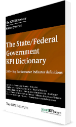 The State / Federal Government KPI Dictionary